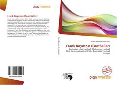 Bookcover of Frank Boynton (Footballer)
