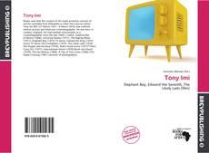 Bookcover of Tony Imi