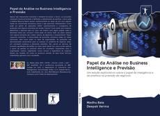 Couverture de Papel da Análise no Business Intelligence e Previsão