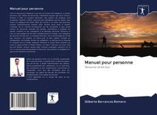 Buchcover von Manuel pour personne