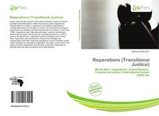 Bookcover of Reparations (Transitional Justice)