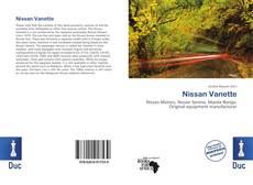 Bookcover of Nissan Vanette