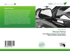 Bookcover of Nissan Homy
