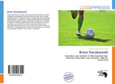 Portada del libro de Brian Sierakowski