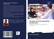 Bookcover of De basis van het islamitische familierecht