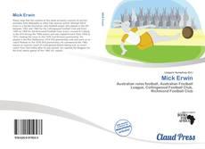 Buchcover von Mick Erwin