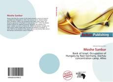 Moshe Sanbar kitap kapağı