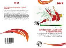 Bookcover of Ian Robinson (Australian Football Umpire)