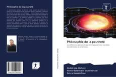 Bookcover of Philosophie de la pauvreté