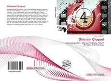 Bookcover of Ghislain Cloquet