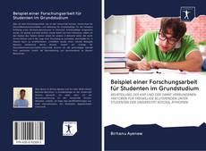 Borítókép a  Beispiel einer Forschungsarbeit für Studenten im Grundstudium - hoz