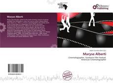 Couverture de Maryse Alberti