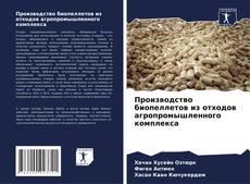 Portada del libro de Производство биопеллетов из отходов агропромышленного комплекса