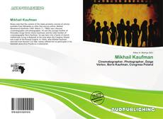 Bookcover of Mikhail Kaufman
