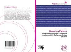 Bookcover of Singleton Pattern