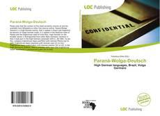 Copertina di Paraná-Wolga-Deutsch