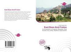 Bookcover of East Dean And Friston