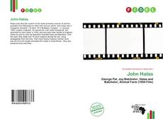 Bookcover of John Halas