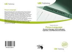 Parya Language kitap kapağı