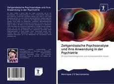 Portada del libro de Zeitgenössische Psychoanalyse und ihre Anwendung in der Psychiatrie