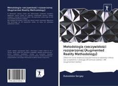 Buchcover von Metodologia rzeczywistości rozszerzonej (Augmented Reality Methodology)
