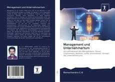Copertina di Management und Unternehmertum