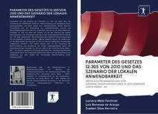 Portada del libro de PARAMETER DES GESETZES 12.305 VON 2010 UND DAS SZENARIO DER LOKALEN ANWENDBARKEIT