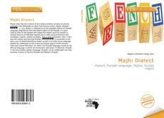 Bookcover of Majhi Dialect