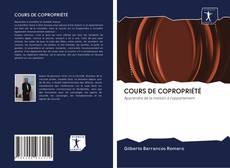 COURS DE COPROPRIÉTÉ的封面