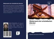 Meisterwerk der orientalischen Literatur kitap kapağı