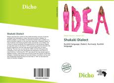 Bookcover of Shakaki Dialect