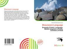 Bookcover of Shauraseni Language