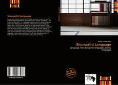 Buchcover von Shumashti Language