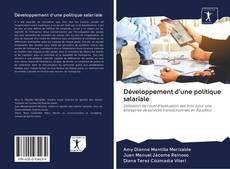 Bookcover of Développement d'une politique salariale