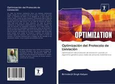 Portada del libro de Optimización del Protocolo de Lixiviación