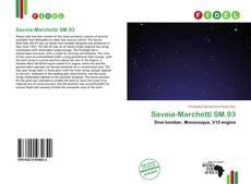 Bookcover of Savoia-Marchetti SM.93