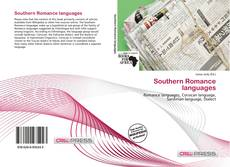 Capa do livro de Southern Romance languages