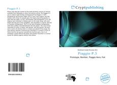 Bookcover of Piaggio P.3