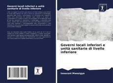 Buchcover von Governi locali inferiori e unità sanitarie di livello inferiore
