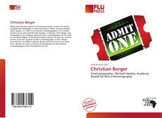 Bookcover of Christian Berger