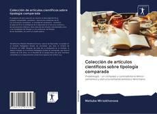 Capa do livro de Colección de artículos científicos sobre tipología comparada