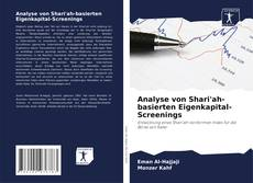 Buchcover von Analyse von Shari'ah-basierten Eigenkapital-Screenings