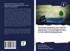 Optimale plaatsing van FACTS-apparaten met windgenerator in het elektriciteitssysteem kitap kapağı
