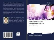 Podręcznik Chemii Farmaceutycznej - II的封面
