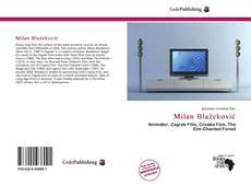 Bookcover of Milan Blažeković