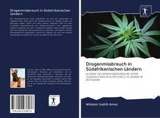 Capa do livro de Drogenmissbrauch in Südafrikanischen Ländern