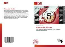Couverture de Alexander Binder