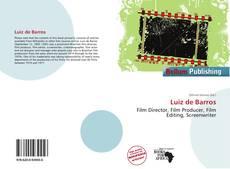 Capa do livro de Luiz de Barros