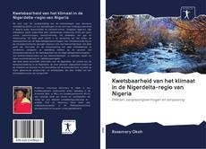 Bookcover of Kwetsbaarheid van het klimaat in de Nigerdelta-regio van Nigeria