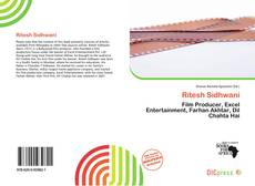 Portada del libro de Ritesh Sidhwani